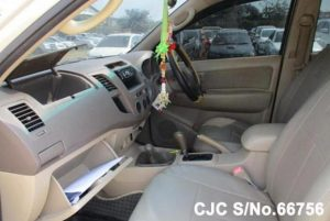 interior of Hilux Vigo for sale