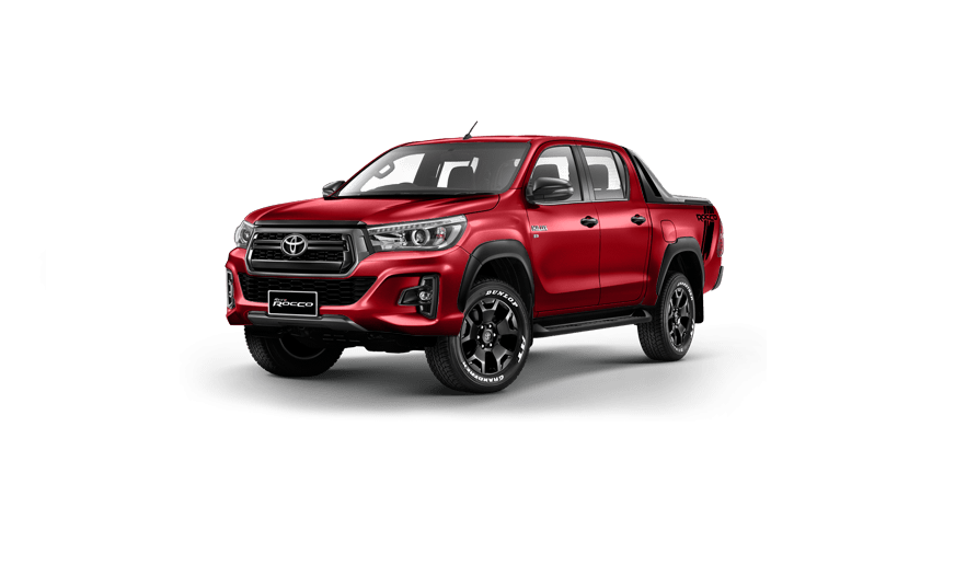Car Junction Company Thailand offers Toyota Hilux Revo Rocco Double Cab Pickup Trucks 4x4, 2.8G Automatic For Sale. The Rocco is equipped with 2.8-gallon diesel engine, 4x4 running gear and six-speed automatic transmission system.