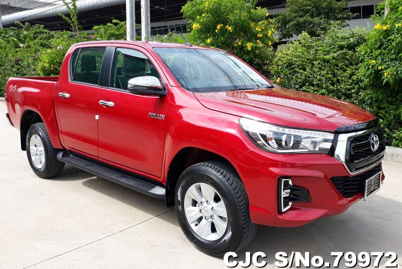 New Toyota Hilux Revo Red MT 2018 2.8L Double
