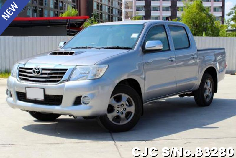 Toyota Hilux Vigo Gray MT 2014 2.5L Diesel