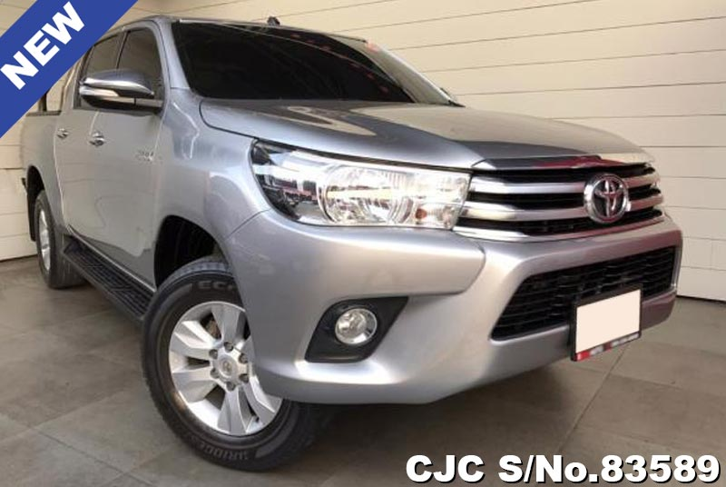 Toyota Hilux Revo Gray AT Double Cab 2016 2.4L