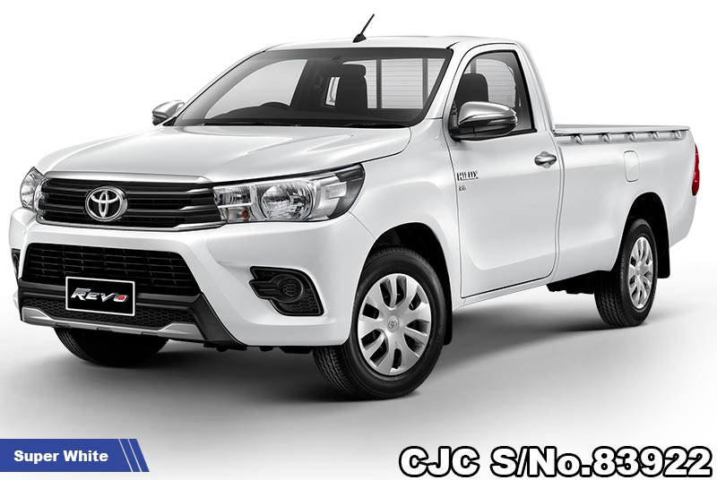 Brand New Toyota Hilux Revo Super White MT 2020.