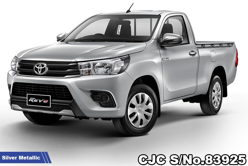 Brand New Toyota Hilux Revo Silver Metallic Manual 2020 2.4L Diesel for Sale