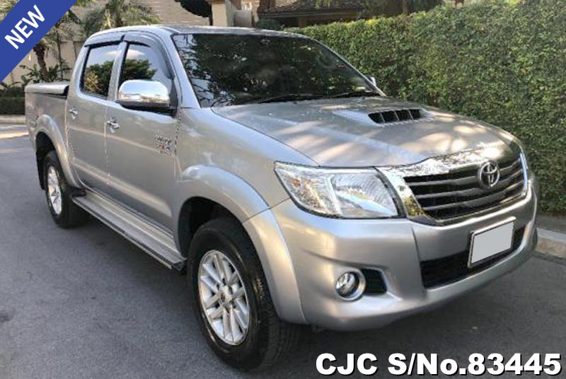 Used Toyota Hilux Vigo Champ Silver AT 2015 3.0L