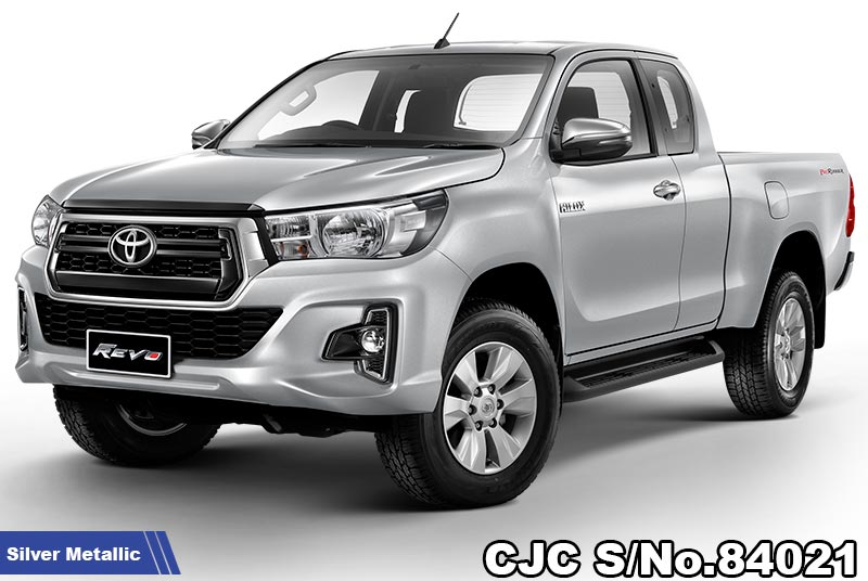 Brand New Toyota Hilux Revo Silver Metallic AT