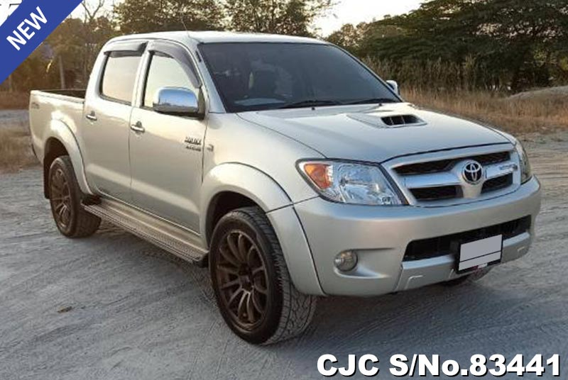 Used Toyota Hilux Vigo Silver AT  2005 3.0L Diesel