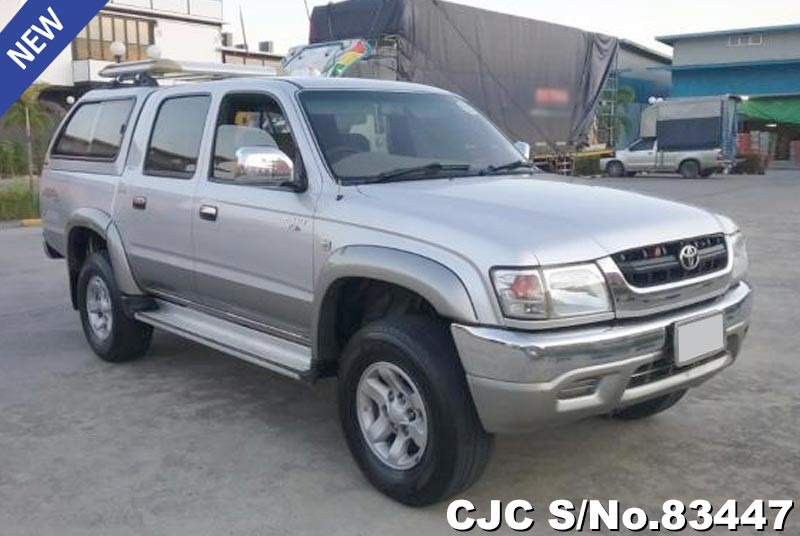 Used Toyota Hilux Silver Manual 2004 2.5L Diesel