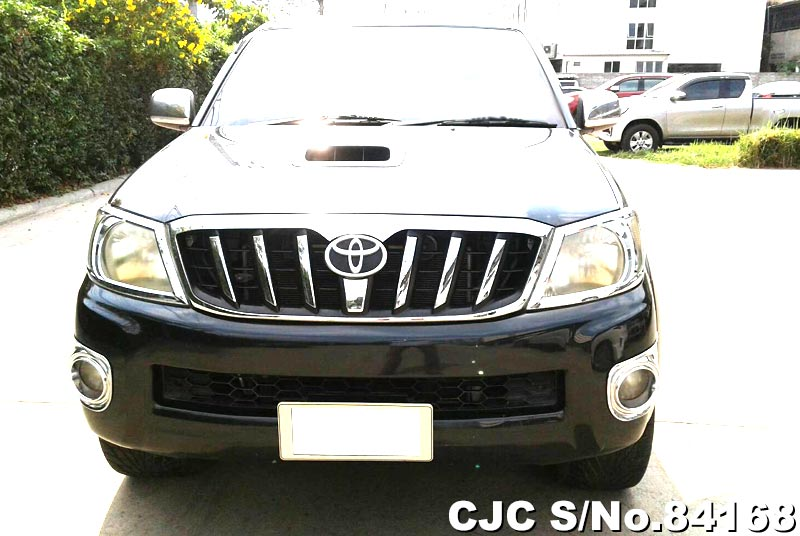 Used Toyota Hilux Vigo Black Manual 2011 2.5L Diesel for Sale