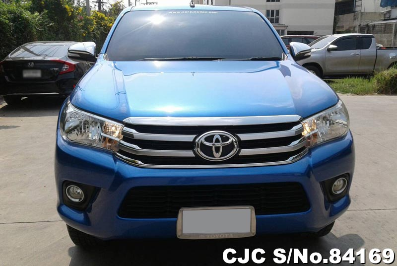 Used Toyota Hilux Revo Blue MT 2015 2.4L