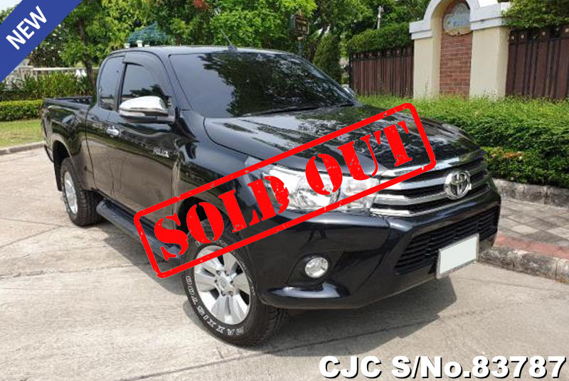 Used Toyota Hilux Revo Black AT 2015 2.4L Diesel