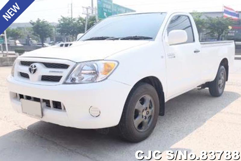 Used Toyota Hilux Vigo White Manual 2008 3.0L Diesel for Sale