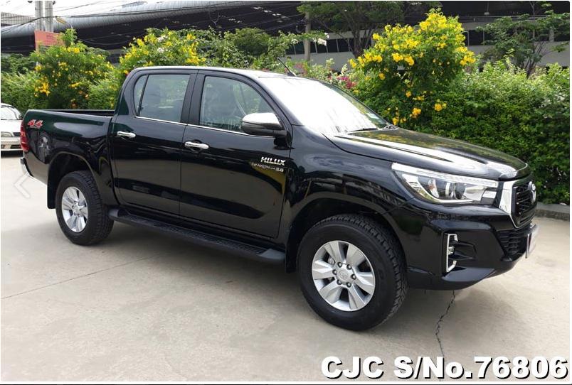 Used Toyota Hilux Revo Black Automatic 2017 2.8L Diesel