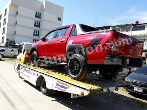 Toyota Hilux Revo Rocco Shipment Process From Thailand to Tanzania..